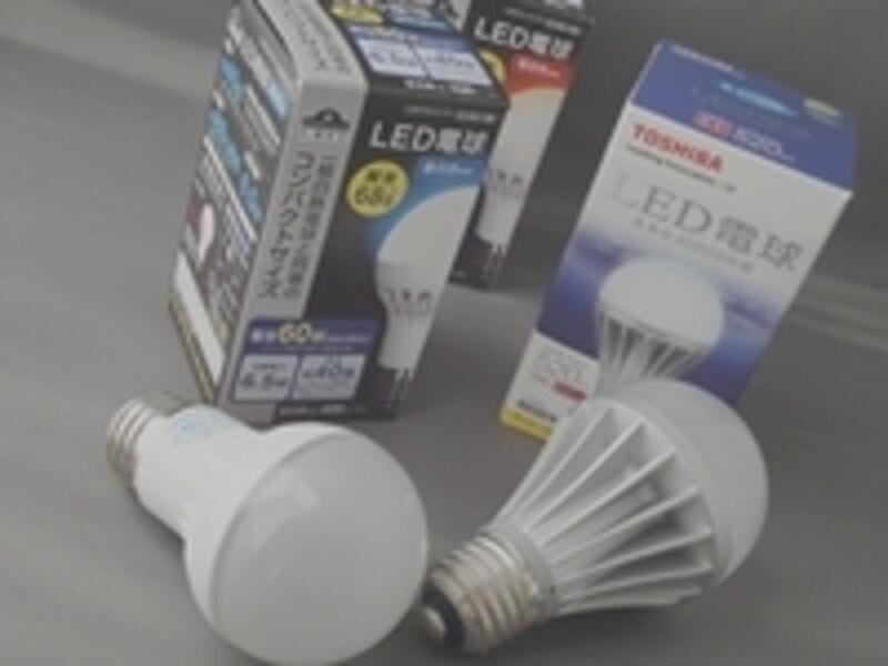急速に普及を始めているLED電球