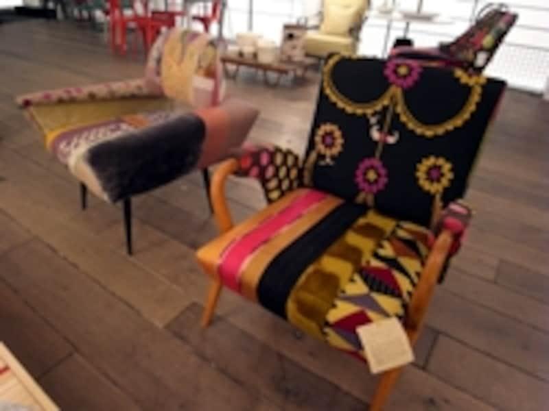 """パリのセレクトショップ""""メルシー""""の椅子"""