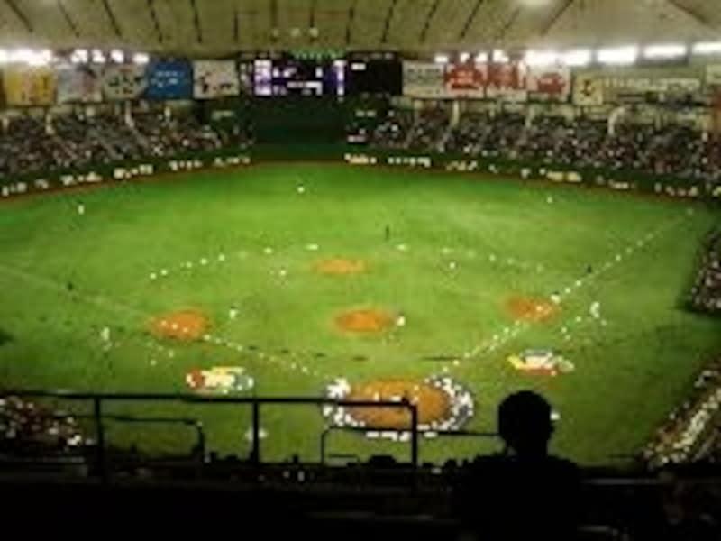 野球の聖地、この東京ドームでは数々の名場面がある