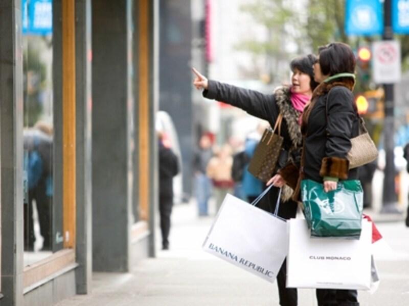 楽しい買い物も旅の大切な要素