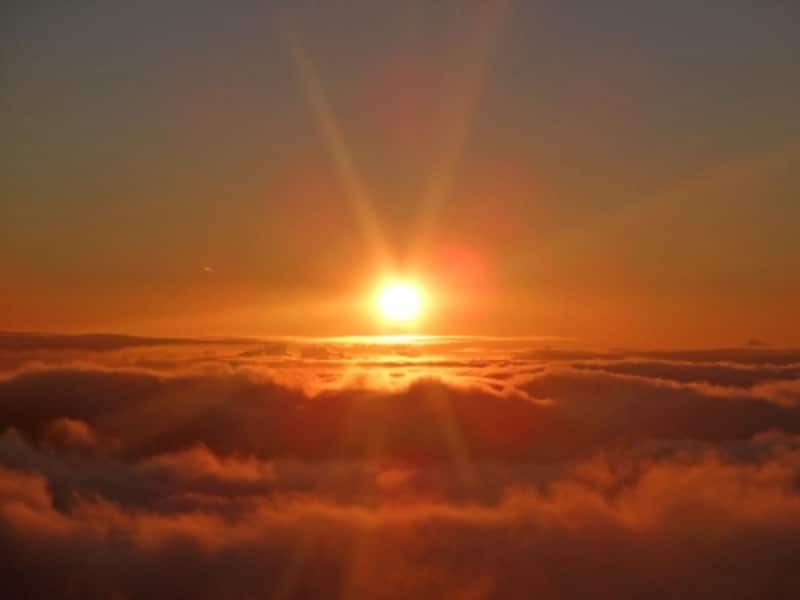 ハレアカラはハワイアンの聖域としても有名