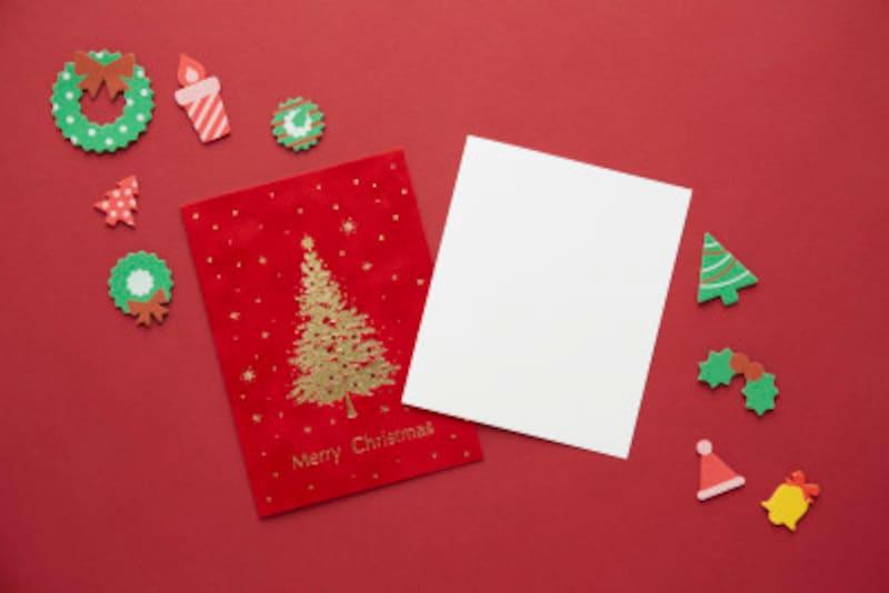 クリスマスカードの書き方と手紙文例!おすすめテンプレート