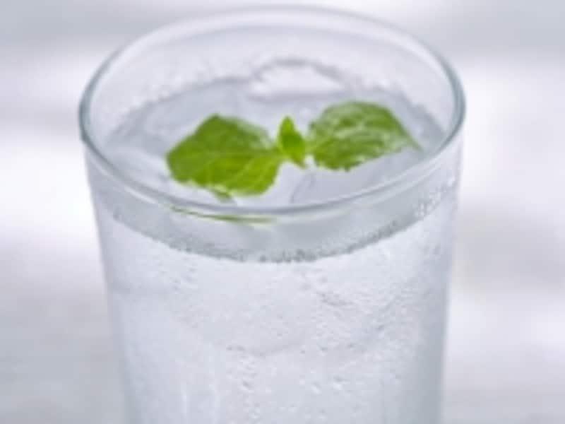 水滴のついたグラス