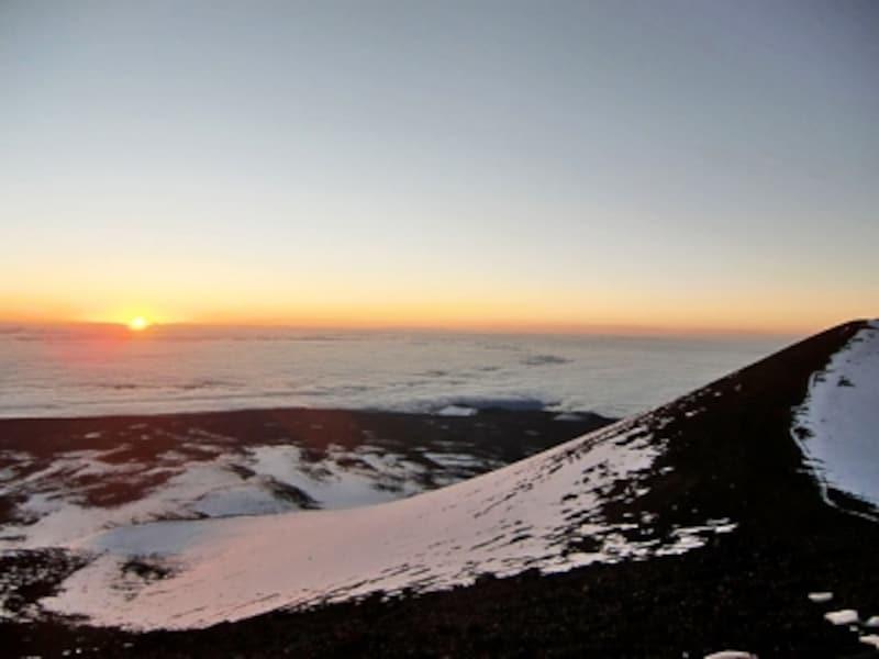 南国ハワイに雪が!最近は異常気象の影響か大雪が降ることもある