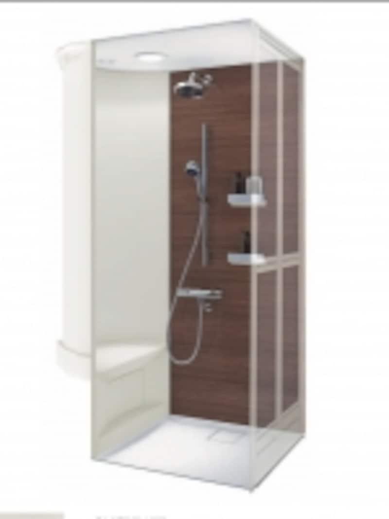 手軽にシャワーを浴びることができるシャワールーム。[シャワールーム0812undefinedXタイプ]undefinedTOTOundefinedhttp://www.toto.co.jp/