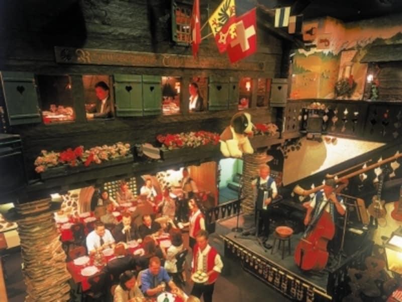 スイスレストラン
