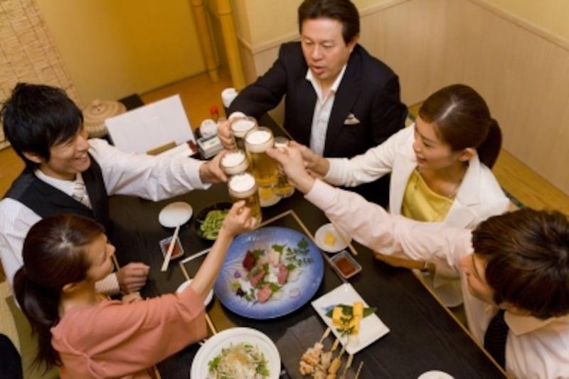 宴会コース+飲み放題。よくある組み合わせのカロリーは?