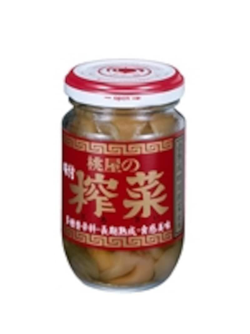 「桃屋の味付搾菜」