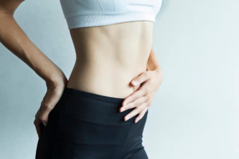 腰回りの固い脂肪を落とすダイエット