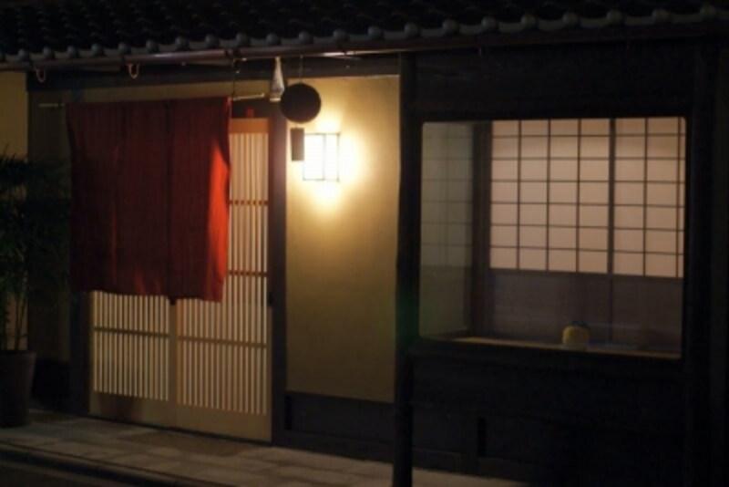 「飯田」の外観