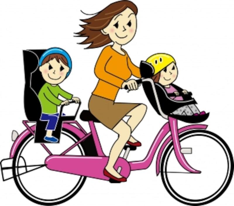 幼児2人同乗基準適合車はいわゆる3人乗り自転車のこと