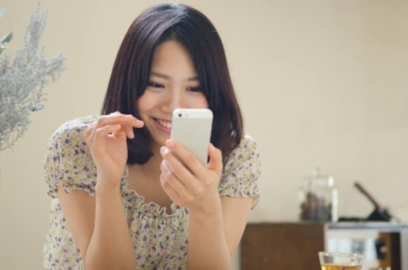 女性は連絡を取り合うこと自体を楽しむタイプが多い。