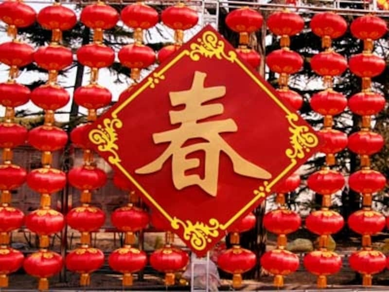 北京の春節
