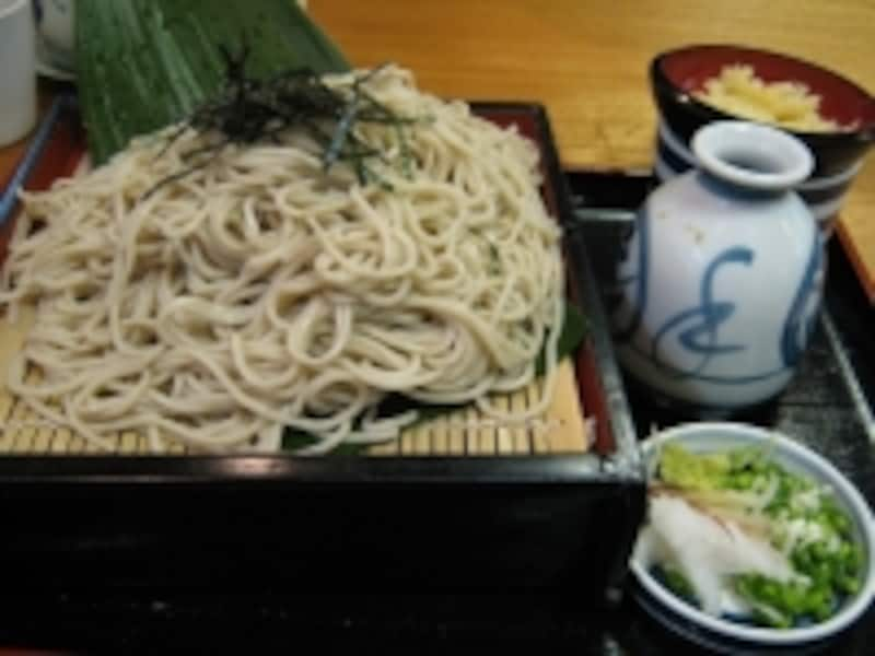 ざる蕎麦(600円)