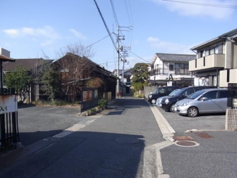 岸和田、旧市街