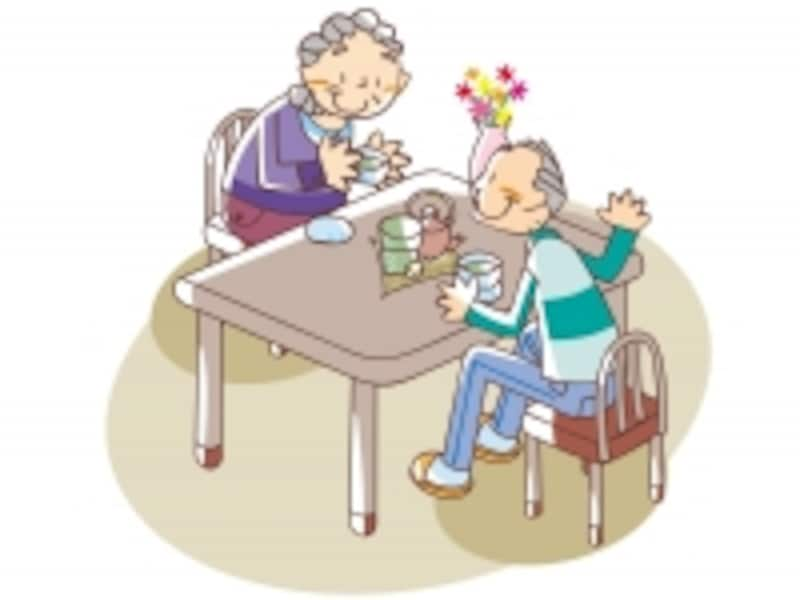 小規模多機能型居宅介護では、通所、短期入所、訪問の各サービスをまとめて受けることができます
