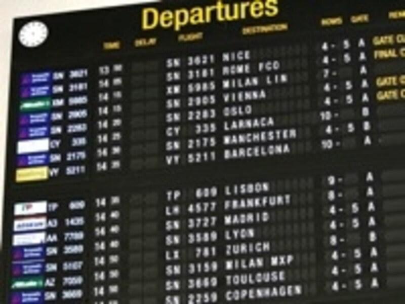 雰囲気やサービスも各航空会社ごとに個性(c)BrusselsAirport