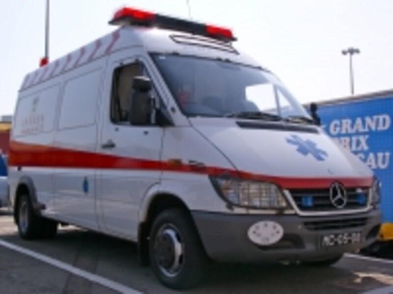 マカオの救急車