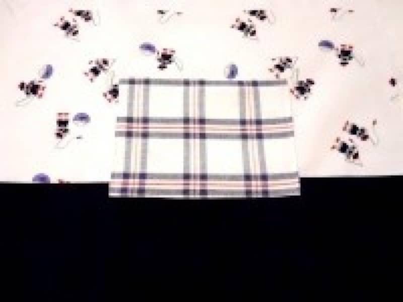 レッスンバッグ作り方・手作り|表布にポケットを縫い付ける