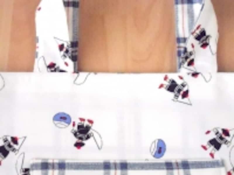 レッスンバッグ作り方・通園バッグの簡単な