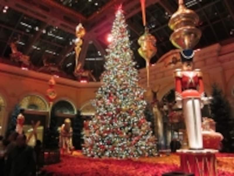 クリスマスバージョンのボタニカルガーデン