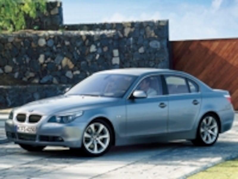 BMW5シリーズセダンフロント