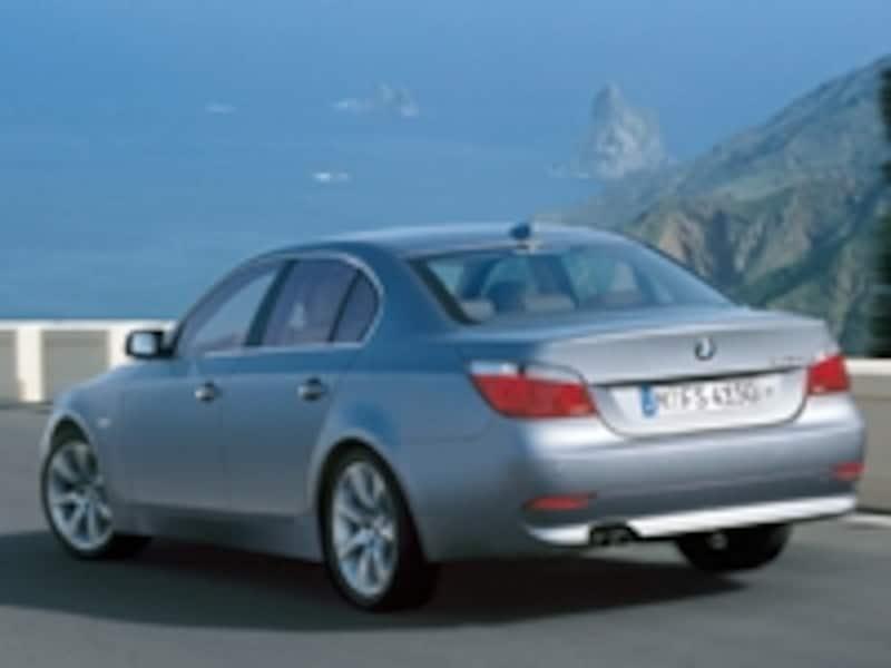 BMW5シリーズセダンリア