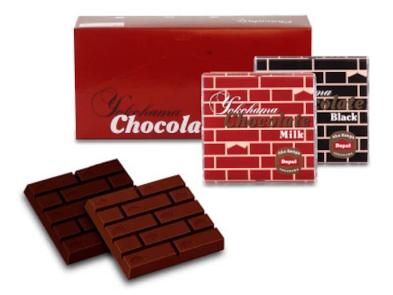 ヨコハマチョコレート(ミルク、ブラック各626円税込)(画像提供:エクスポート)