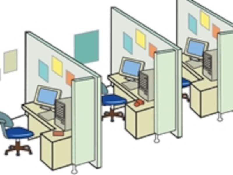 気がついたら会社のいたるところにサーバーやプリンターが林立