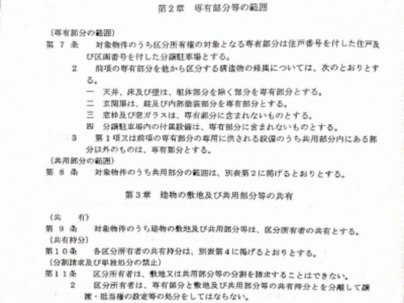 Kさんのマンションの管理規約