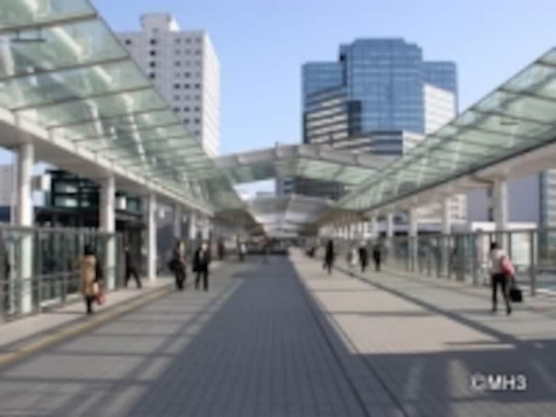 再開発が進むJR「大崎」駅
