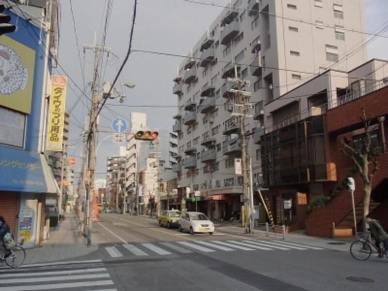 大通りのマンション@JR塚本