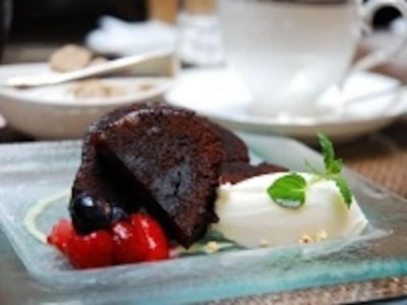 チョコケーキを作るためには、いくつかの材料が必要になる。