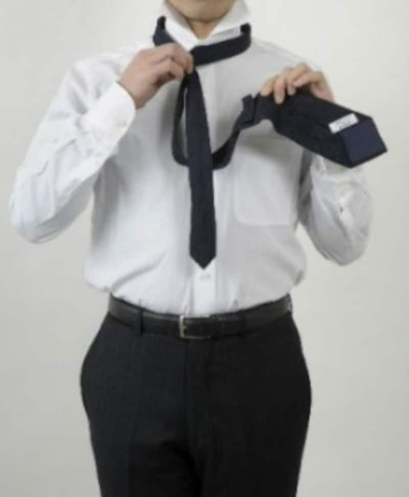 ネクタイ,結び方,ウィンザーノット