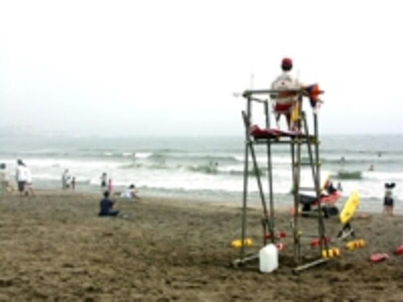 一見して、何も危ないところのないような海辺でも、数々の危険が待っています。