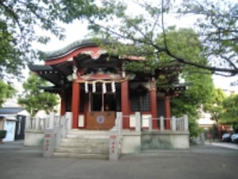 木場近くの州崎神社