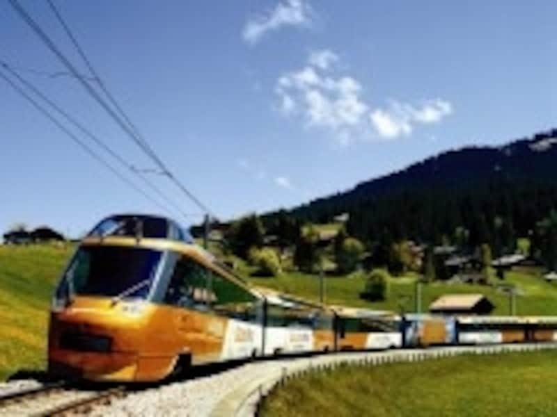 スイスの鉄道イメージ