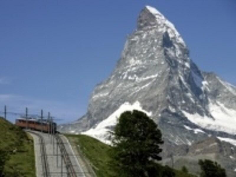 スイス登山電車のイメージ