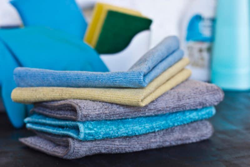 マイクロファイバータオルやふきんの洗い方・使い方
