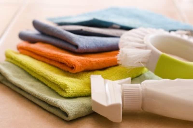 マイクロファイバータオル・ふきんの洗濯方法は、化学繊維の扱い方と同じ