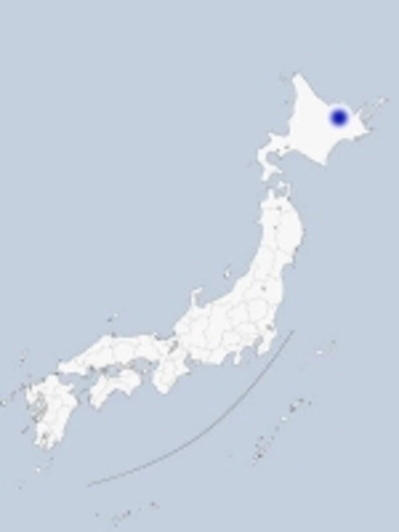 網走の地図