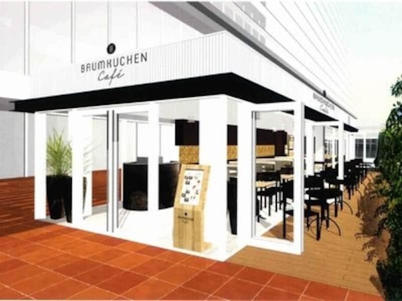 バウムクーヘンカフェ外観