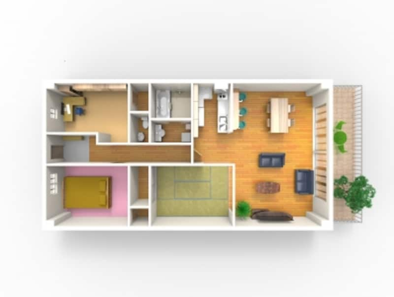 首都圏のマンションの一戸当たりの平均専有面積は68.94m2。70m2に満たない(出典:不動産経済研究所undefined首都圏のマンション市場動向undefined2017年7月※1)