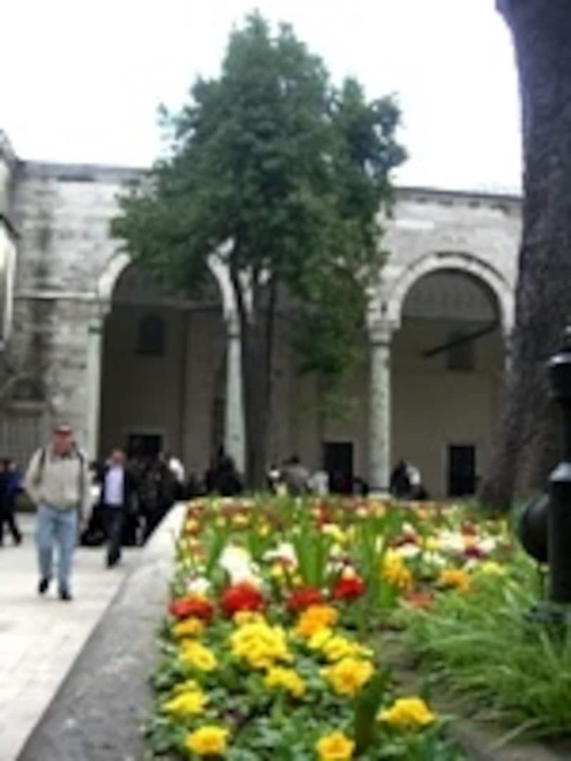 トプカプ宮殿内部