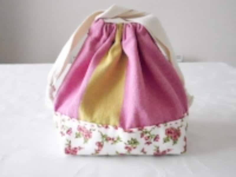 お弁当袋の作り方:手縫いで簡単◎幼稚園の準備