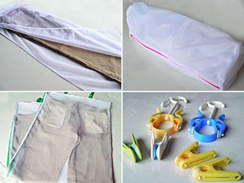 チノパンなど、家で洗えるパンツをシワなく洗濯する方法