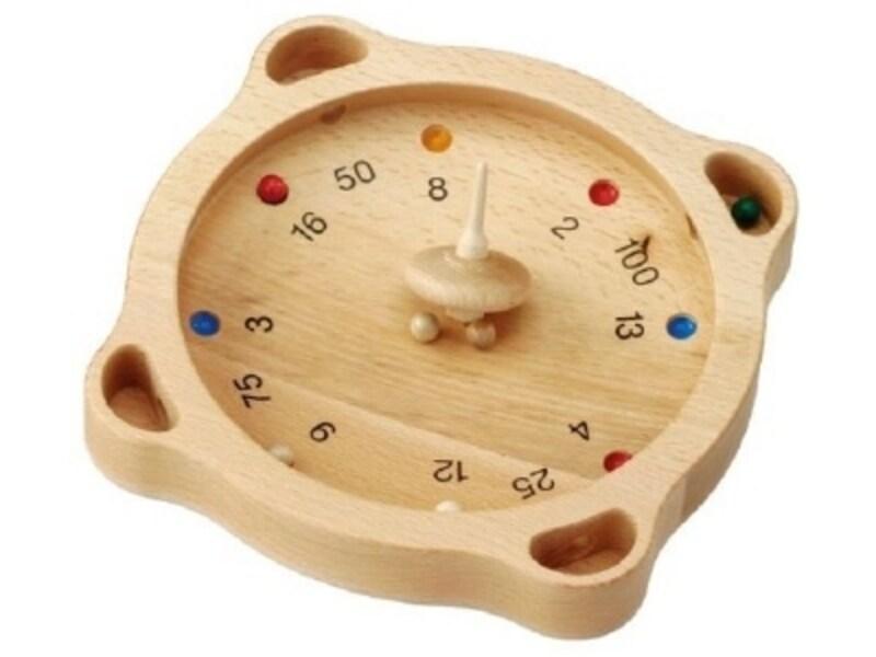 木の玉が弾ける音が心地良いボードゲーム