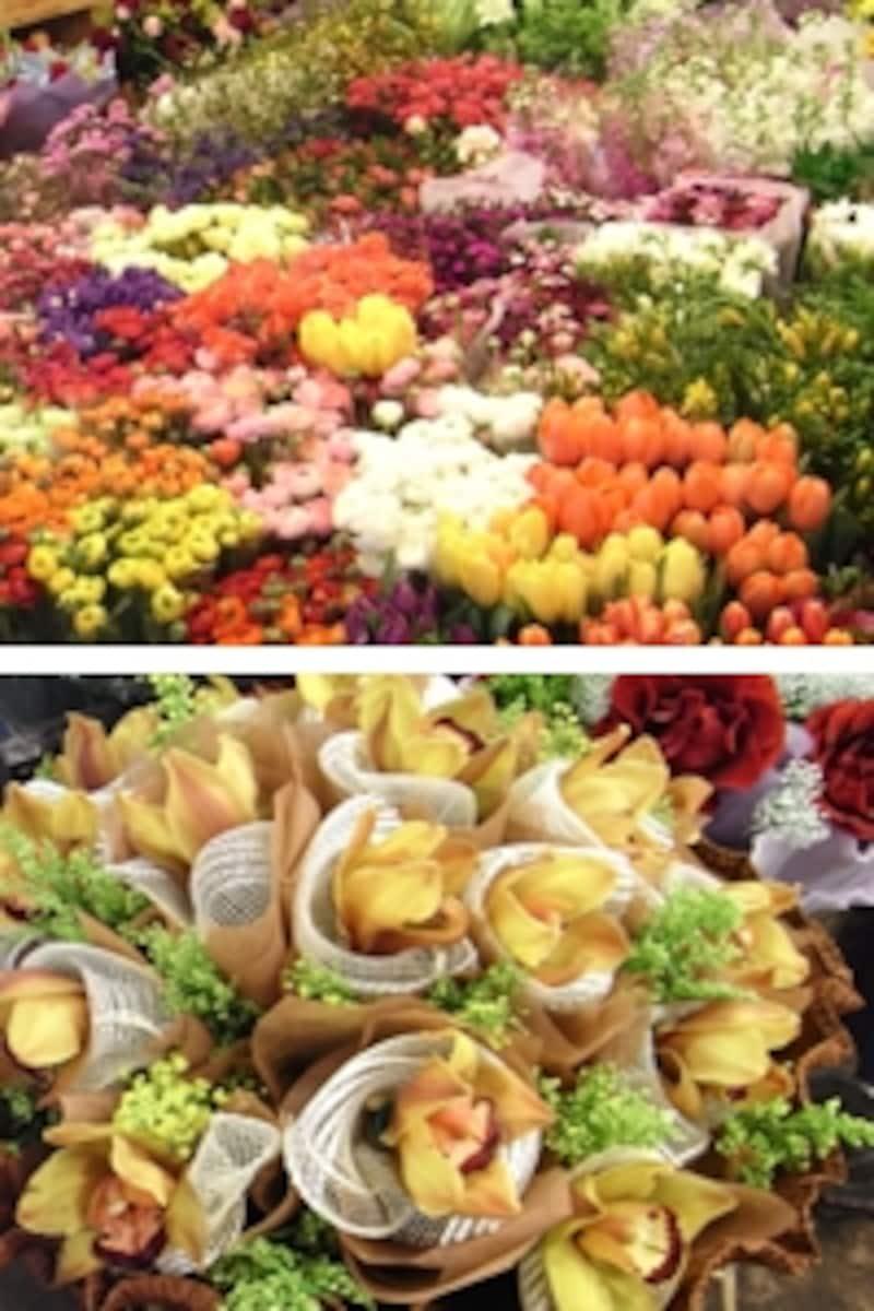 上海花市場