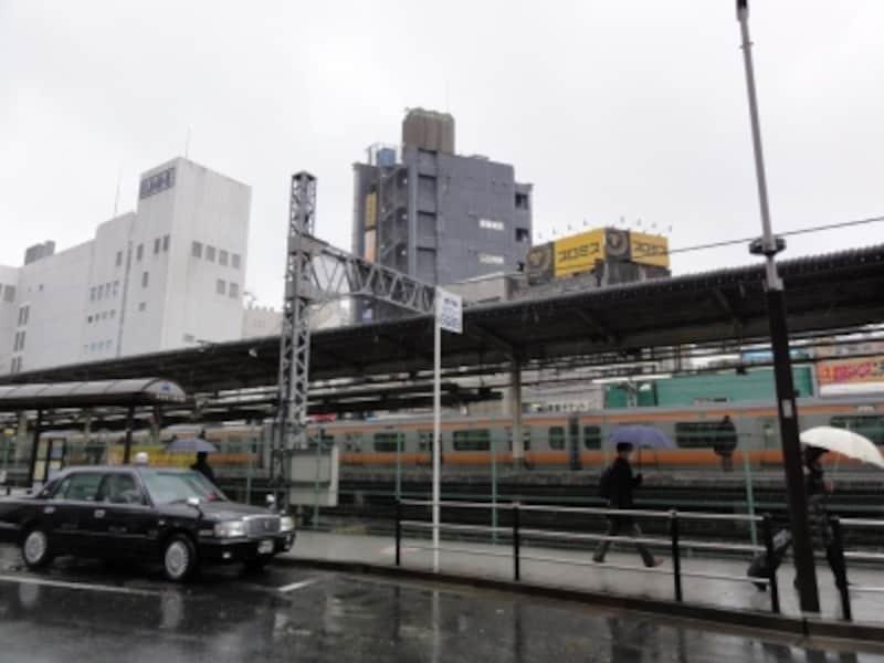 この日はみぞれまじりの雨。寒い日だった。