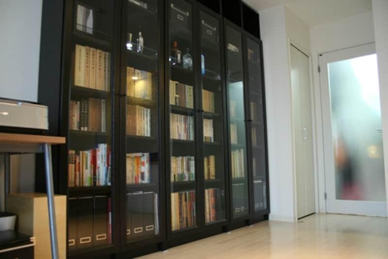壁一面の書棚が無事!undefined効果のあった地震対策術